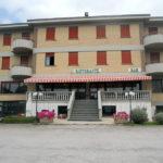 Esterno del Ristorante Il Focolare di Fabro in Umbria