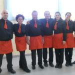 Staff del Ristorante Il Focolare di Fabro in Umbria